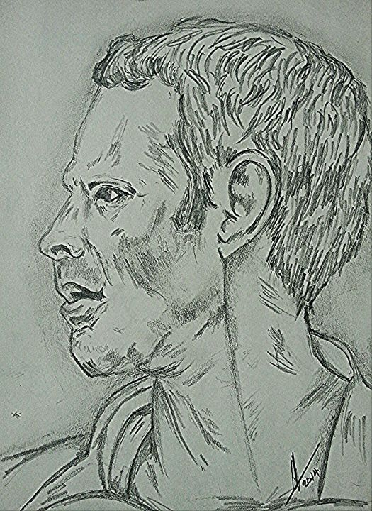 Ryan Giggs Art - Collin A. Clarke