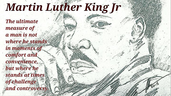 Martin Luther King Junior  Quotes - Collin A. Clarke
