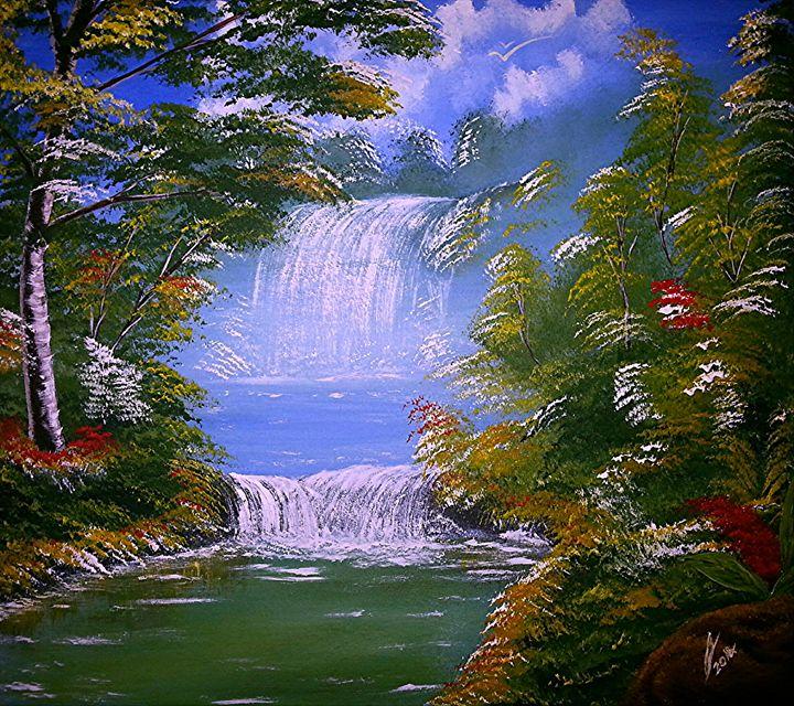 Paradise Falls - Collin A. Clarke