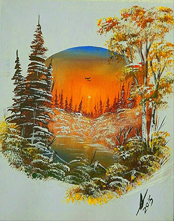 Sunset Snow  Heaven - Collin A. Clarke