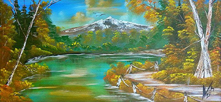 Autumn Mountain - Collin A. Clarke