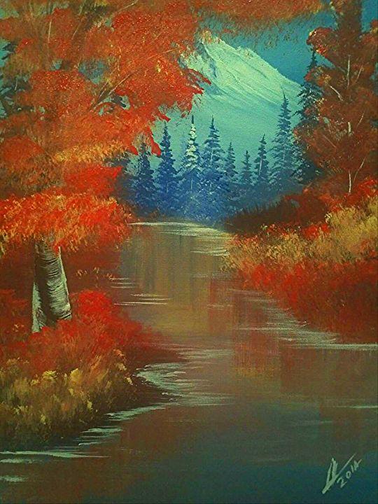 Peaceful  Autumn - Collin A. Clarke
