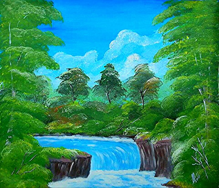 Tropical  Falls - Collin A. Clarke