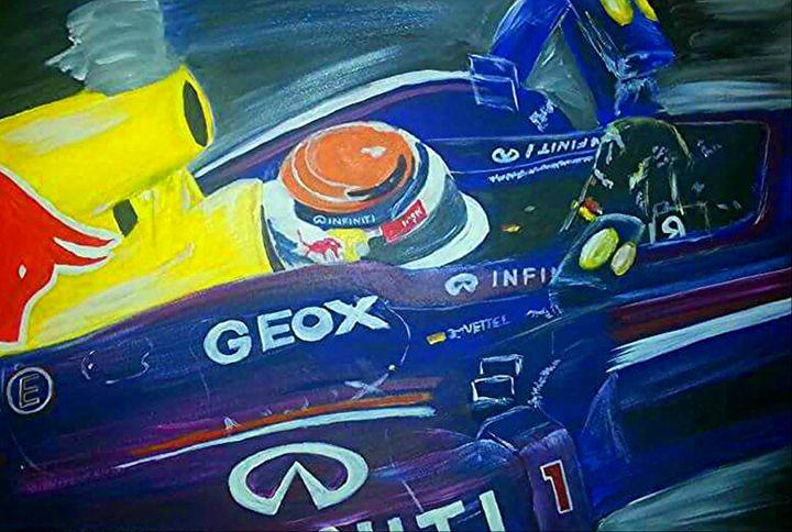 Infiniti Redbull Racing - Collin A. Clarke