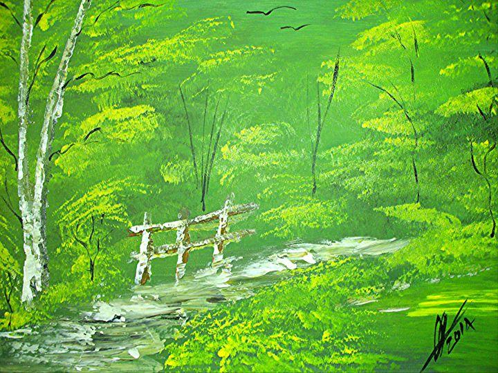 Green Meadows - Collin A. Clarke