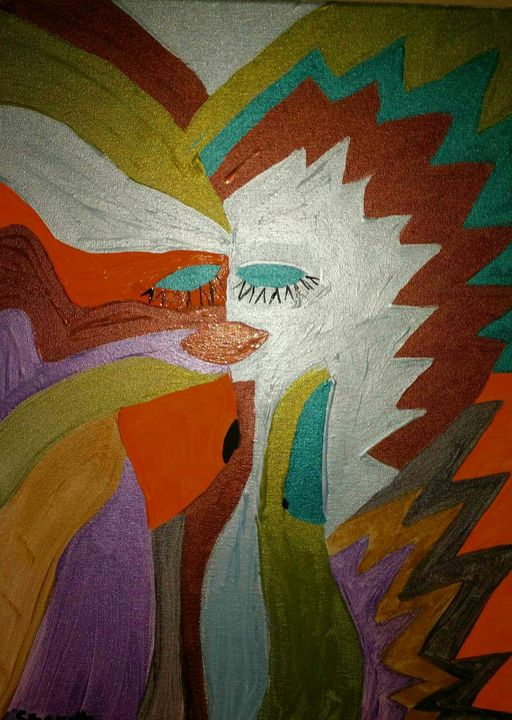 Face me - Creole Lady Art