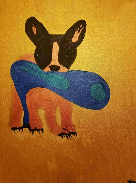 Bull shoe - Creole Lady Art