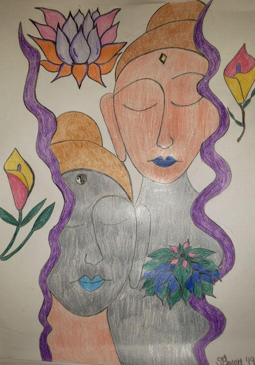 Peaceful mediation - Creole Lady Art