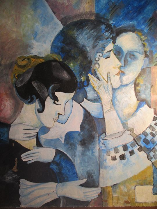 CHAGALL BLUE DREAM - INDRA