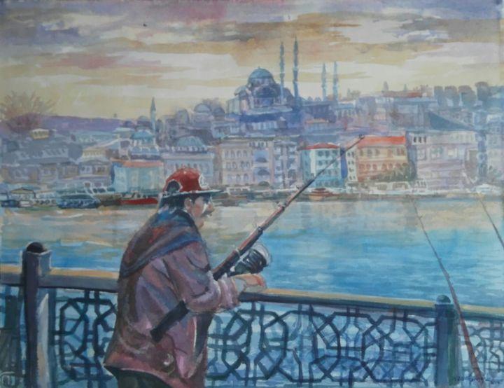 Galata bridge - artgallery