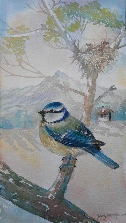 Blue Bird - artgallery