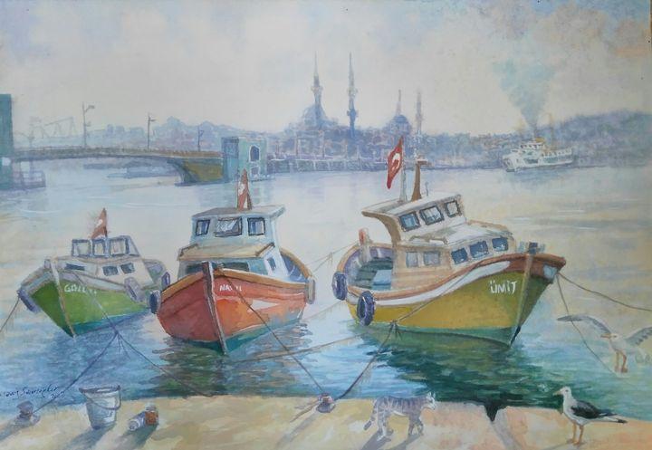 istanbul karakoy - artgallery