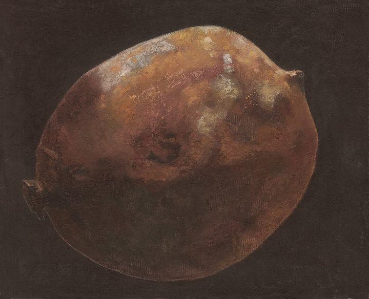 The rotten lemon 03 - Chunlei Ni,  a Chinese Bronze Oil painter