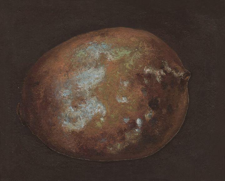 The rotten lemon 02 - Chunlei Ni,  a Chinese Bronze Oil painter
