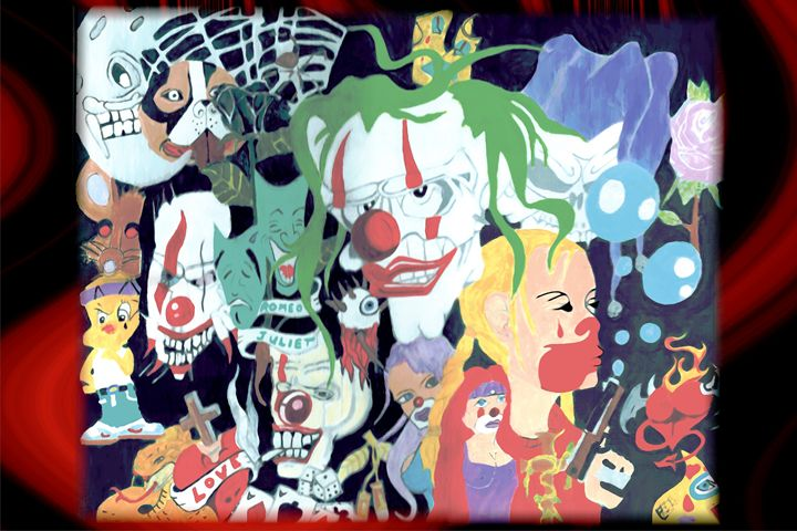 No Clowning Around Gangsta - Acro Arts