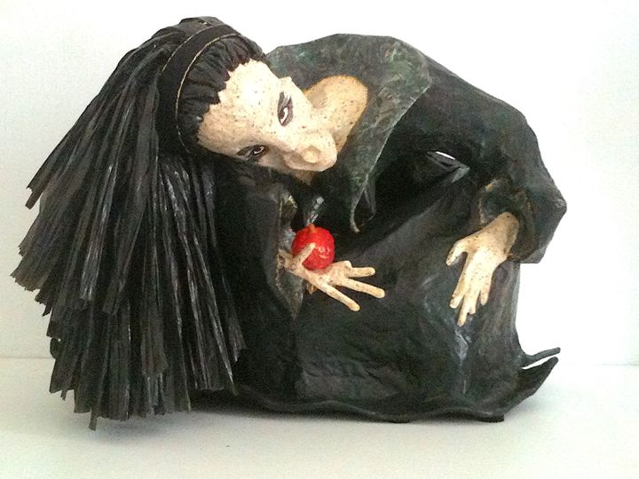 Witch with apple - Mc Regottaz