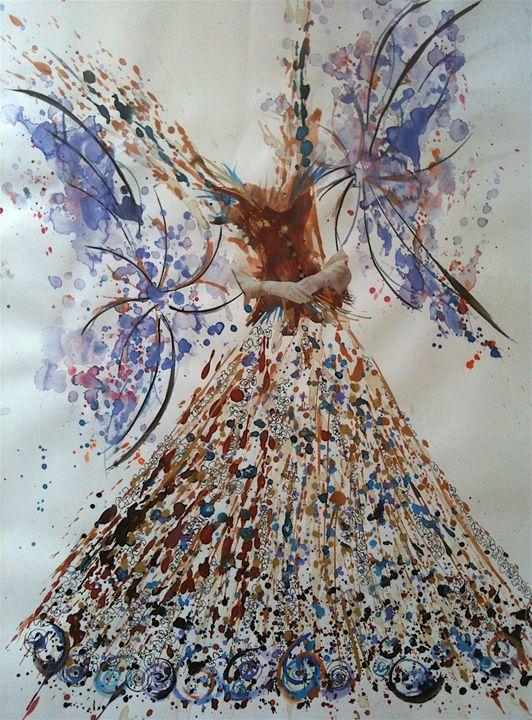Fairy with white gloves - Mc Regottaz