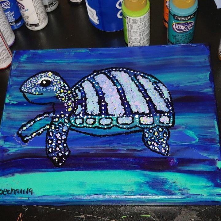 Sea Turtle - Hailey Oechsli