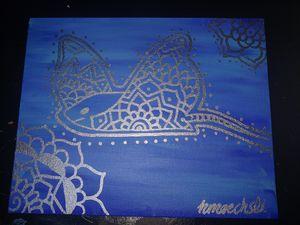 Mondala Stingray Painting