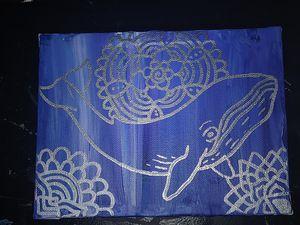 Mandala Whale Painting