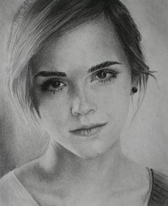 Emma Watson Pencil Portrait