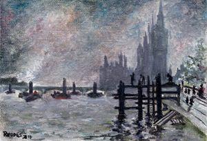 impressionist harbor