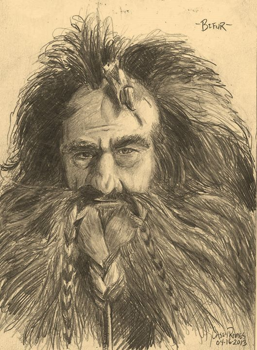 bifur - Paint and Sketch by Casey Rhodes