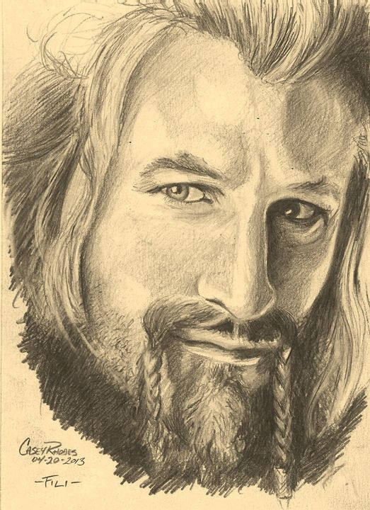 Fili - Paint and Sketch by Casey Rhodes