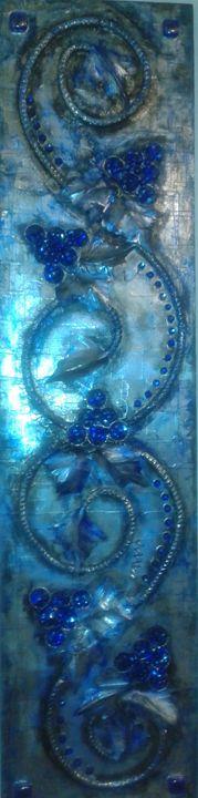 Blue Grapes - Jireh