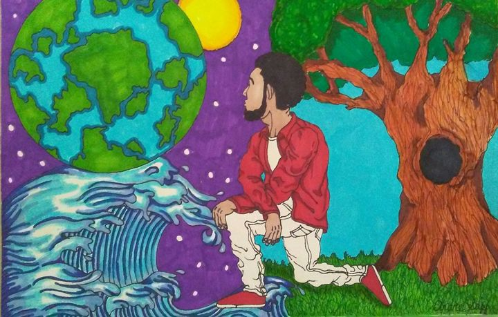 Free Like the Ocean and Space - Andre Sapp