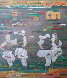 Iranian Balooch Men Dance