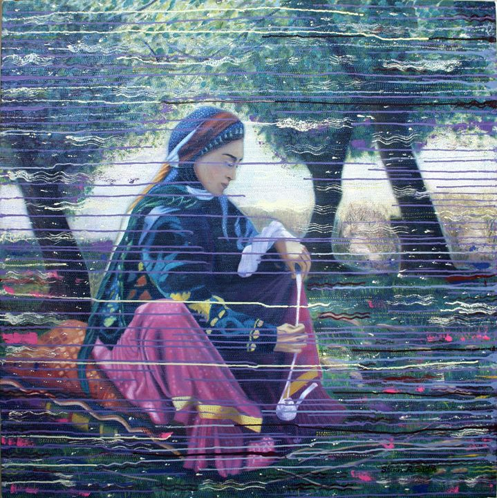 alone woman - Shirin Alizadeh