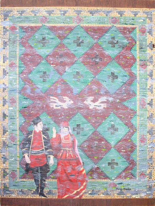 traditional dancers - Shirin Alizadeh