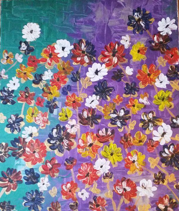 Floral theme - Tayyabahfz