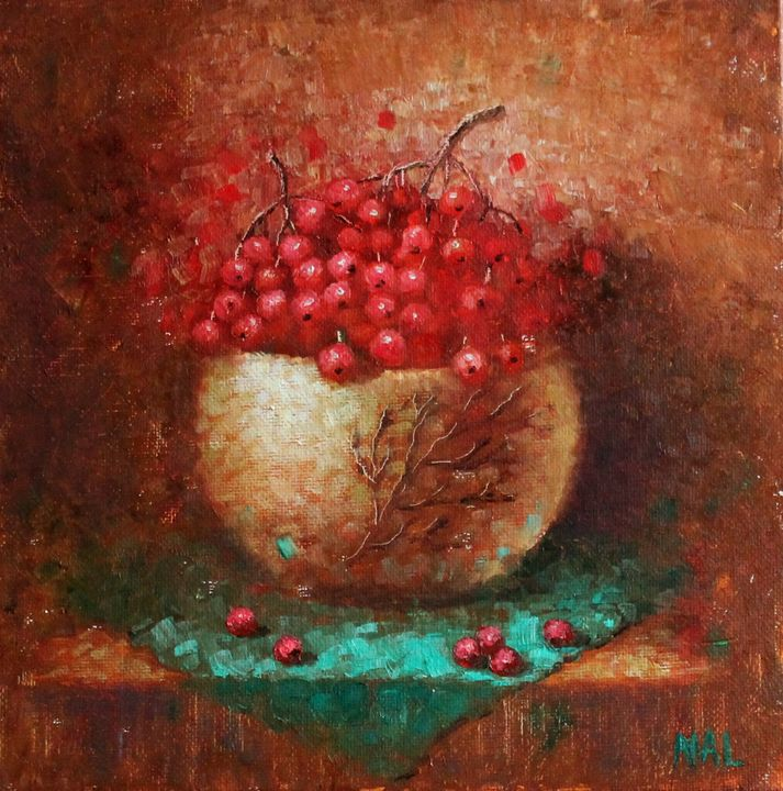 """""""Red berries"""" - NatalieVerve"""