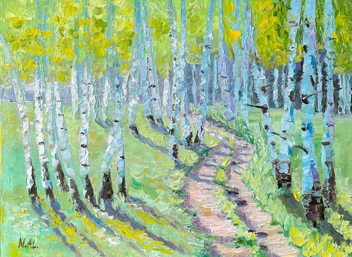 Dance of birches - NatalieVerve