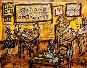 'Over Easy Morning Cafe'