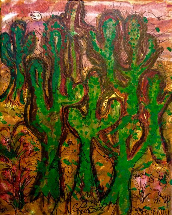 'Saguaro Zombies' - Hillbillyrustic
