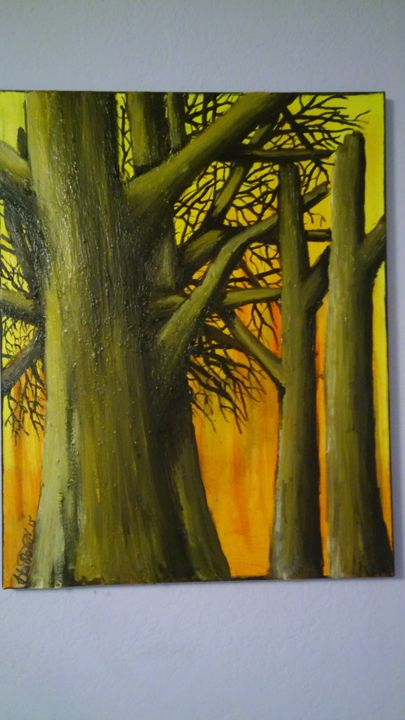 Intertwined Trees - HH ART