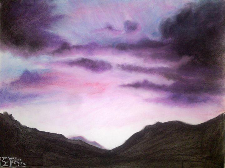 purple clouds - Mohamed Elhafed