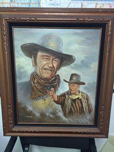 John Wayne by A. Rangast