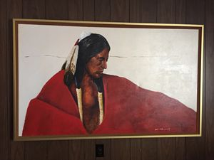 James C. Nagle Indian Painting