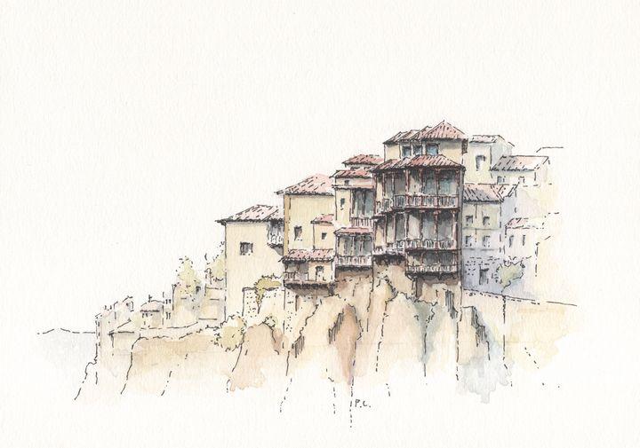 Casas Colgadas in Cuenca - PABLOQUEST