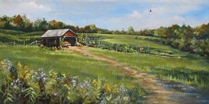 Burtt's Apple Orchard - The Art of Mylissa Kowalski
