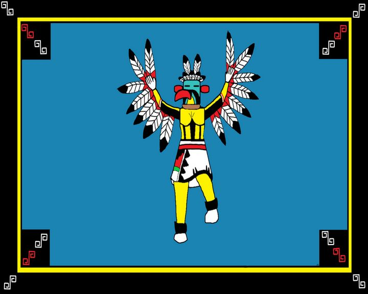 Eagle Kachina - Jennydearinger