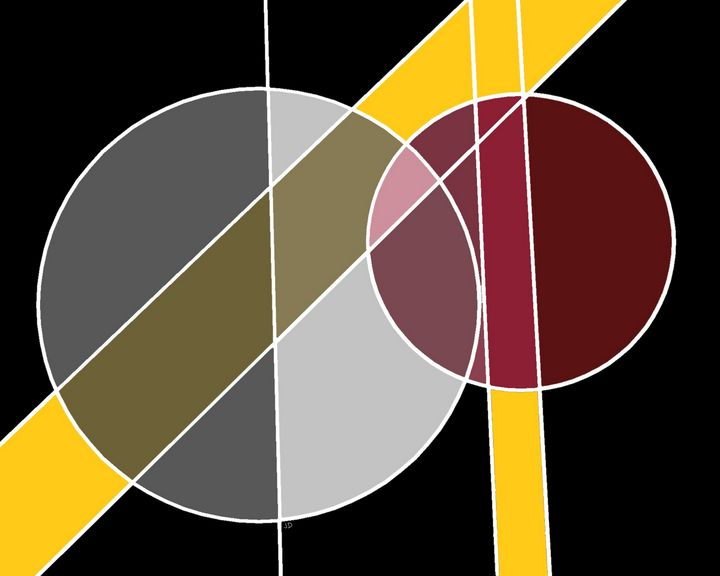 Concentric circles Abstract - Jennydearinger