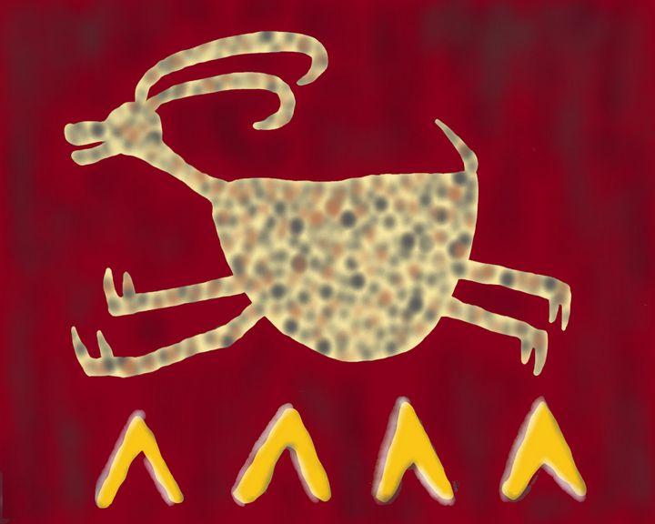 Ancient Navajo Petroglyphs - Jennydearinger