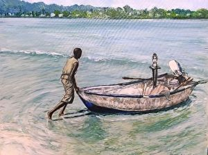 Going fishing - Vaughn Tucker Fine Art