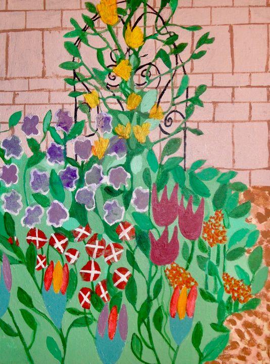 The Court Yard version 1 - Little Garden arts