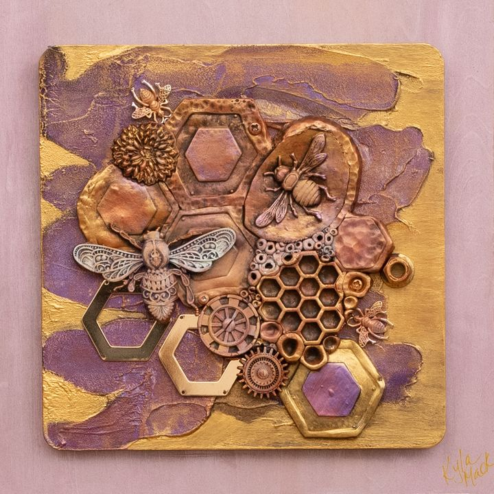 Honey Bee You - Kyla Mack Gallery